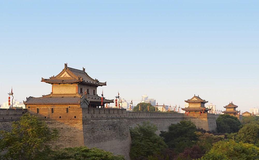 Xi'an city wall, China